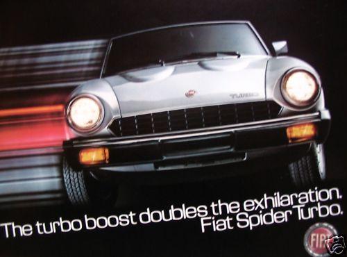 Catálogos Fiat Spider Turbo12